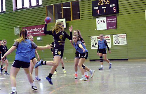 Weibliche C-Jugend: Unentschieden gegen den SC Bottrop