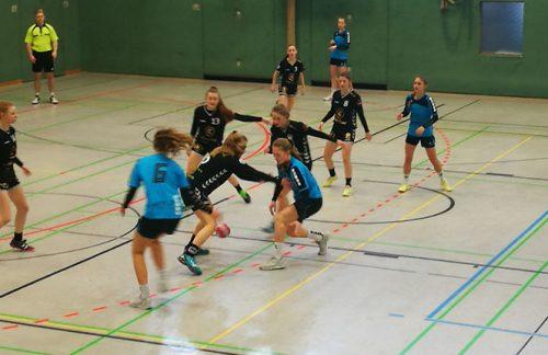 Weibliche C-Jugend: Niederlage beim Tabellennachbarn Mettmann-Sport