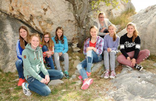 Weibliche C Jugend GSG grueßt aus Kroatien
