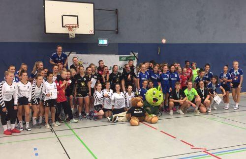 Weibliche C Jugend: 2. Platz beim AOK Junior Cup TuS Ickern